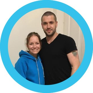 Shayne Ward and Nina